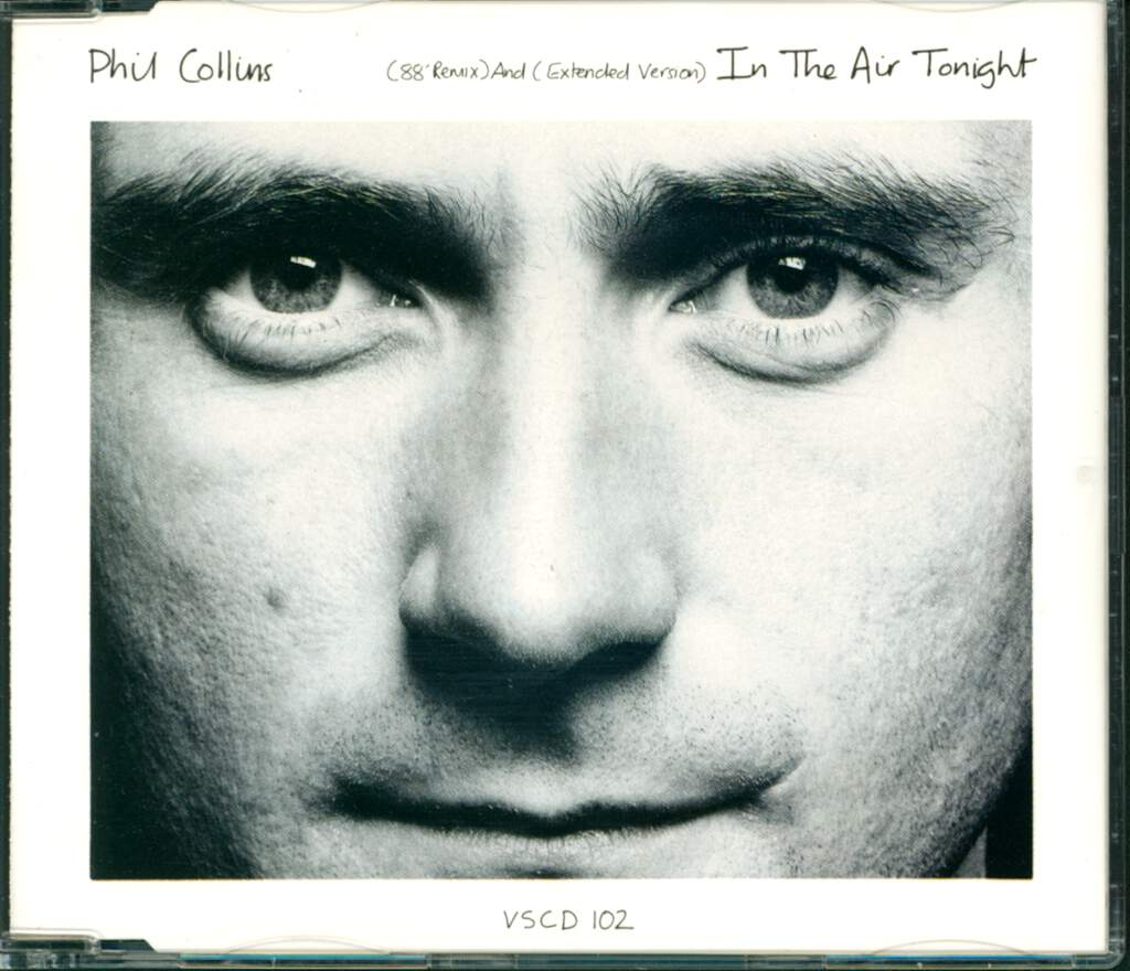 Phil Collins: In The Air Tonight (88' Remix) And (Extended Version), Mini CD