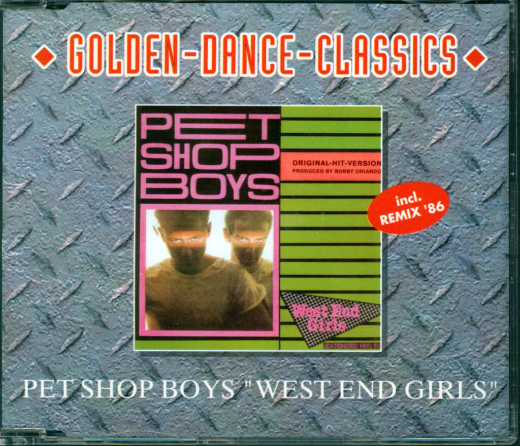 Pet Shop Boys: West End Girls, Mini CD