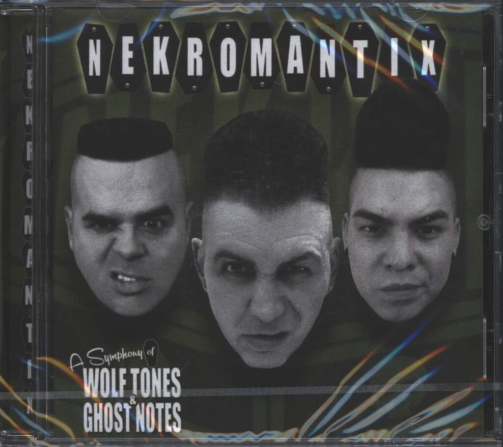 Nekromantix: A Symphony Of Wolf Tones & Ghost Notes, CD