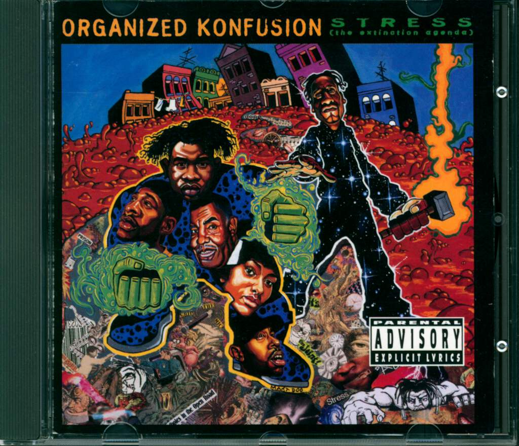 Organized Konfusion: Stress: The Extinction Agenda, CD