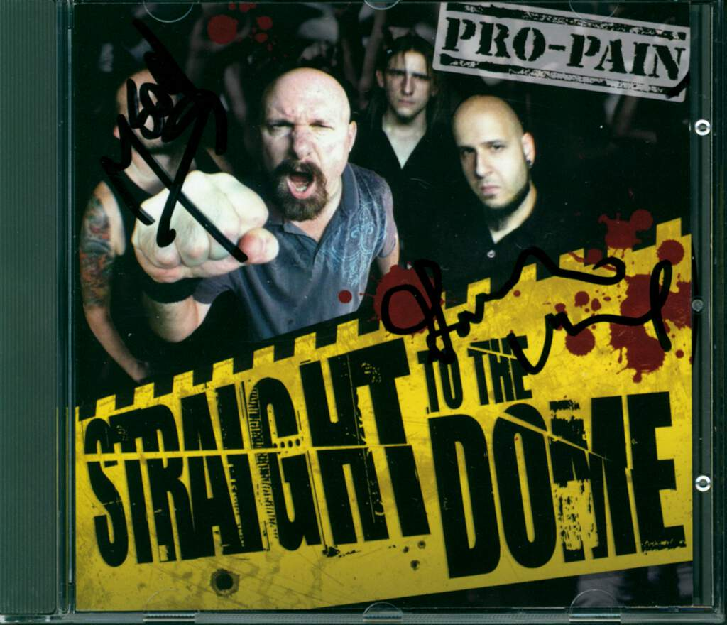 Pro-Pain: Straight To The Dome, CD