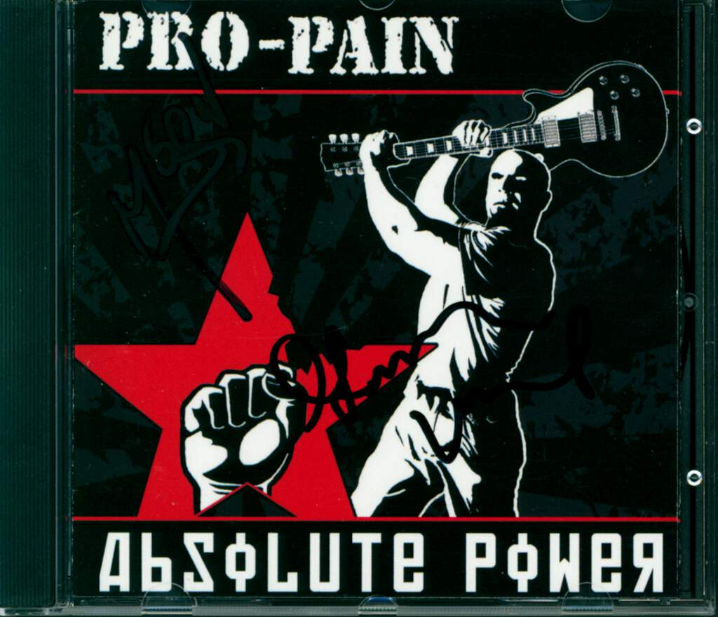 Pro-Pain: Absolute Power, CD