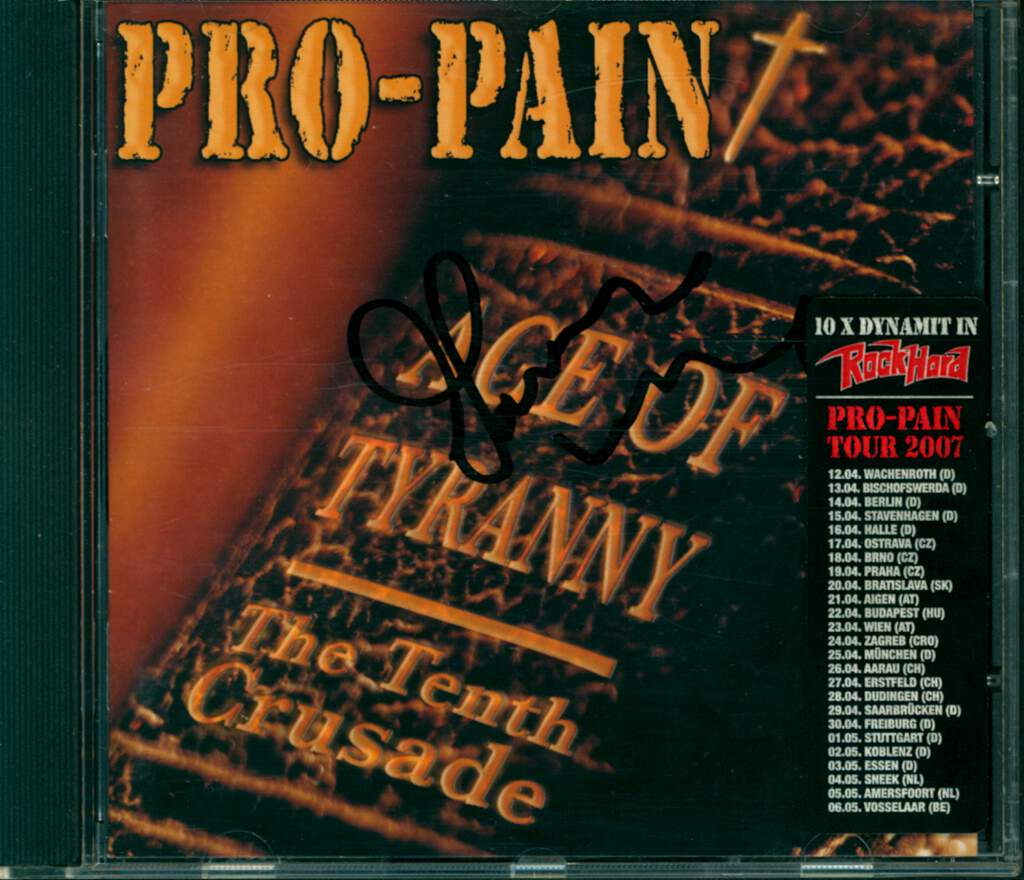 Pro-Pain: Age Of Tyranny - The Tenth Crusade, CD