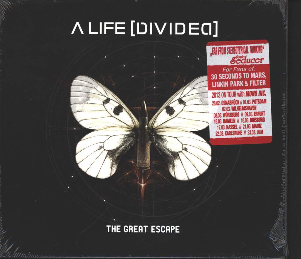 A Life Divided: The Great Escape, CD