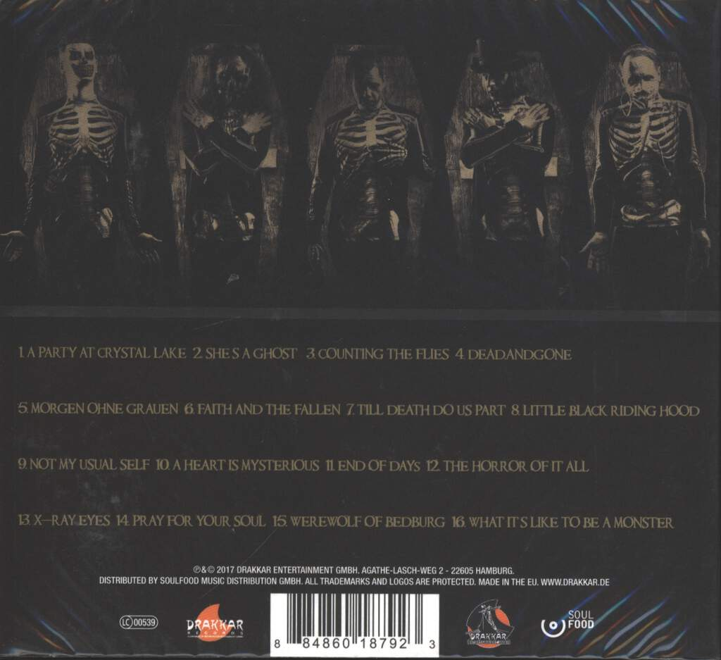 The Other: Casket Case, CD