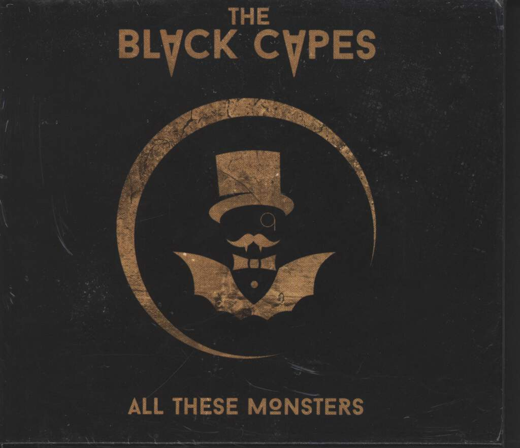 The Black Capes: All These Monsters, CD