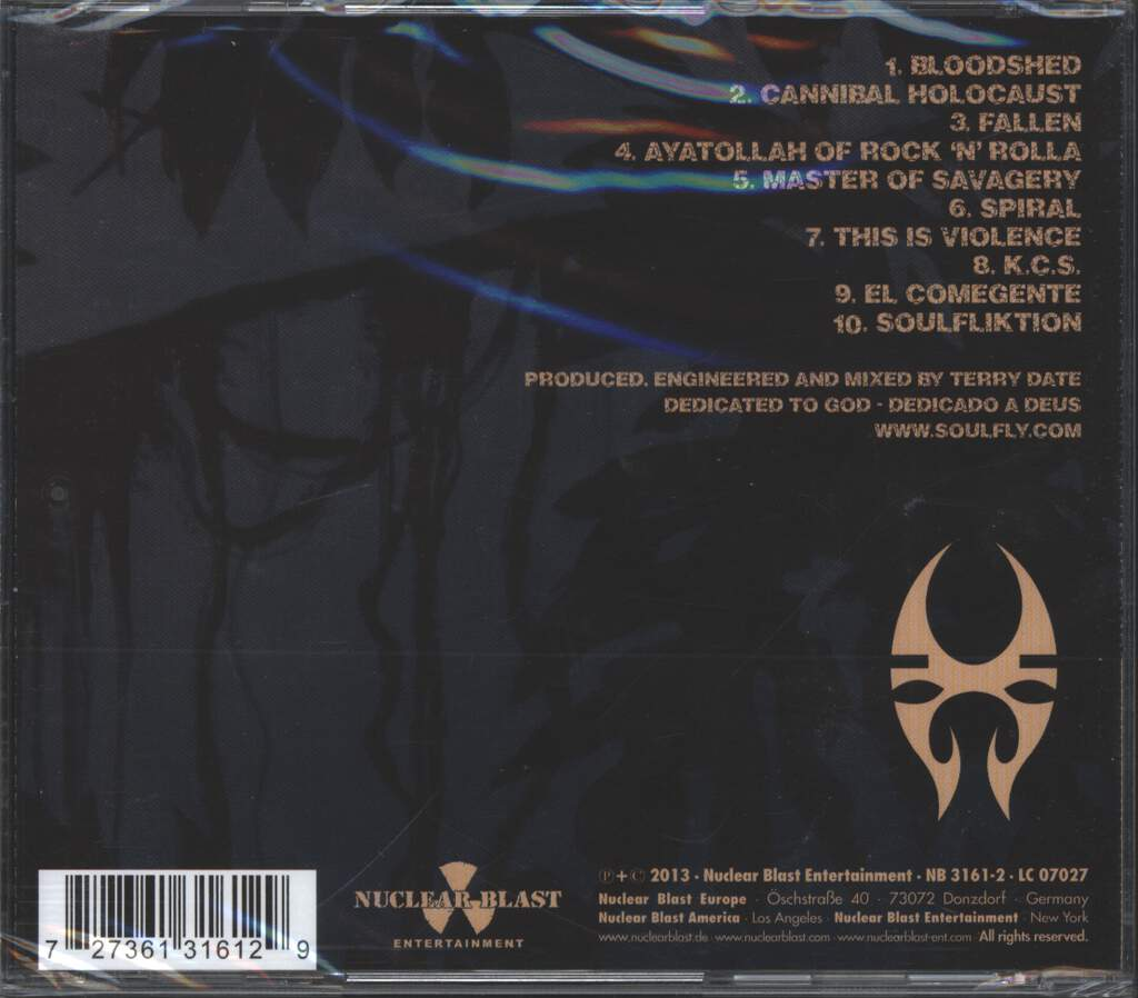 Soulfly: Savages, CD