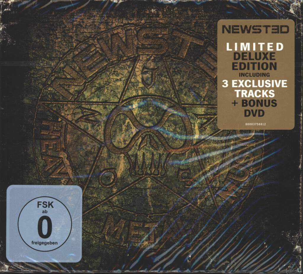 Newsted: Heavy Metal Music, 2×CD