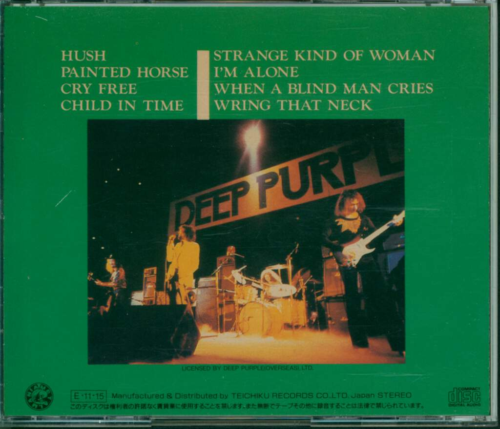 Deep Purple: New, Live And Rare, CD