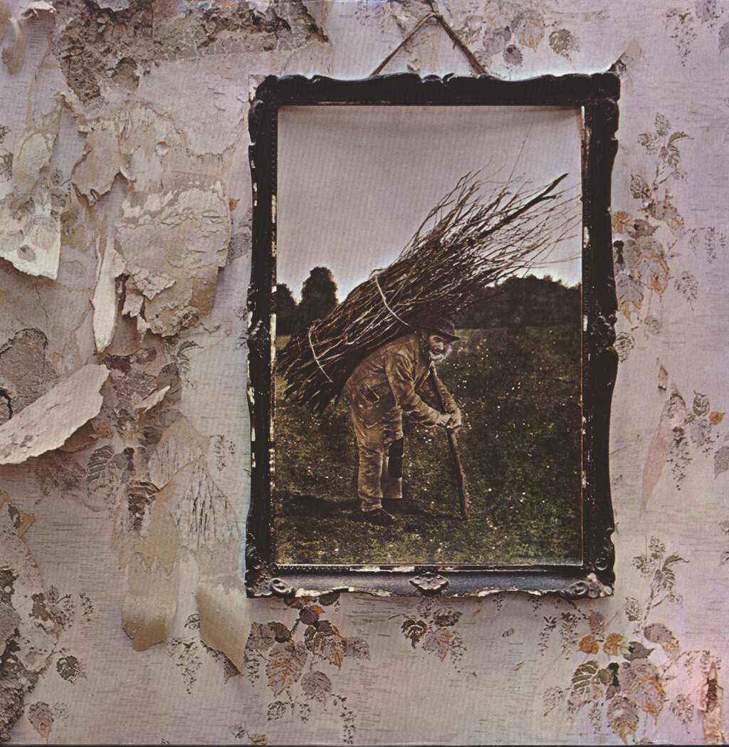 Led Zeppelin: Untitled (IV), LP (Vinyl)