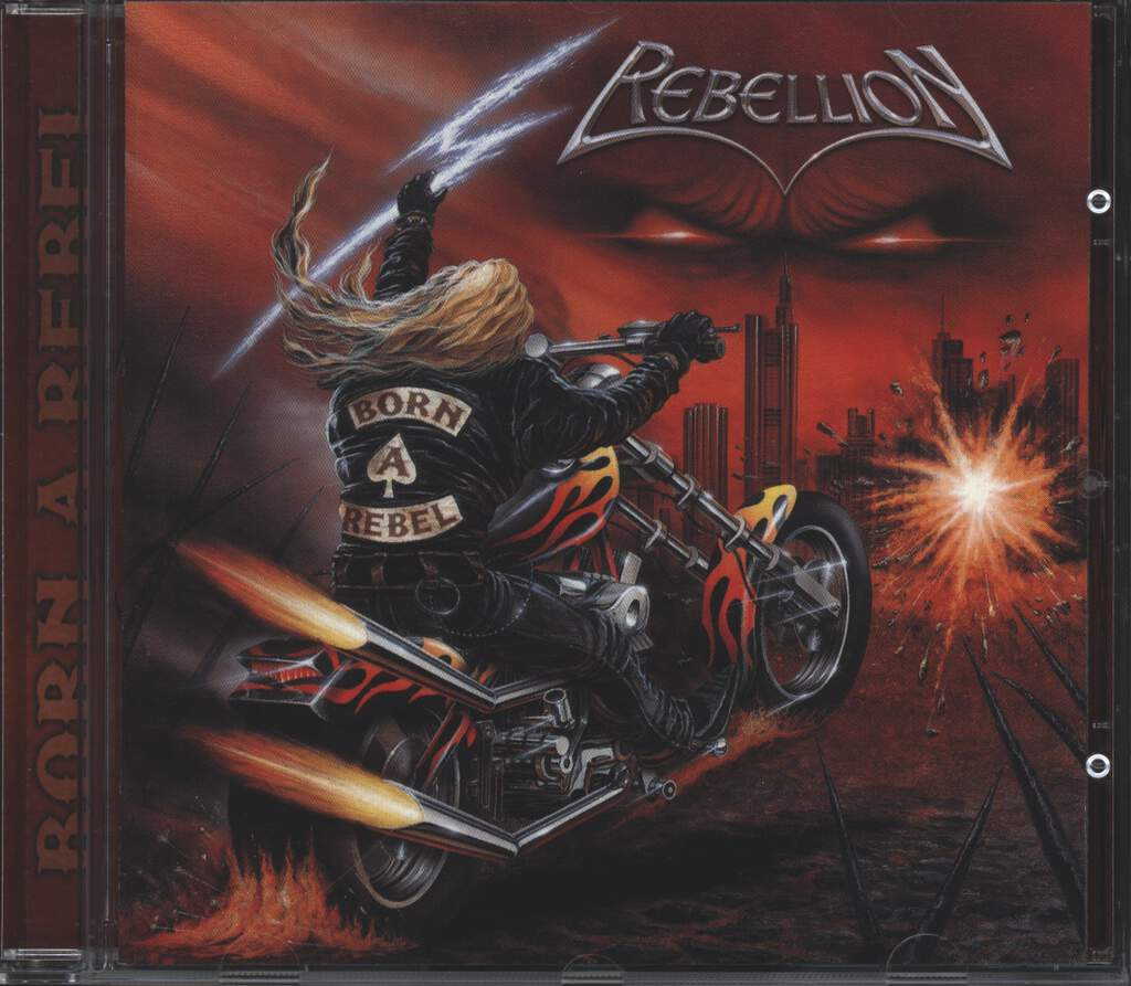 Rebellion: Born A Rebel, CD
