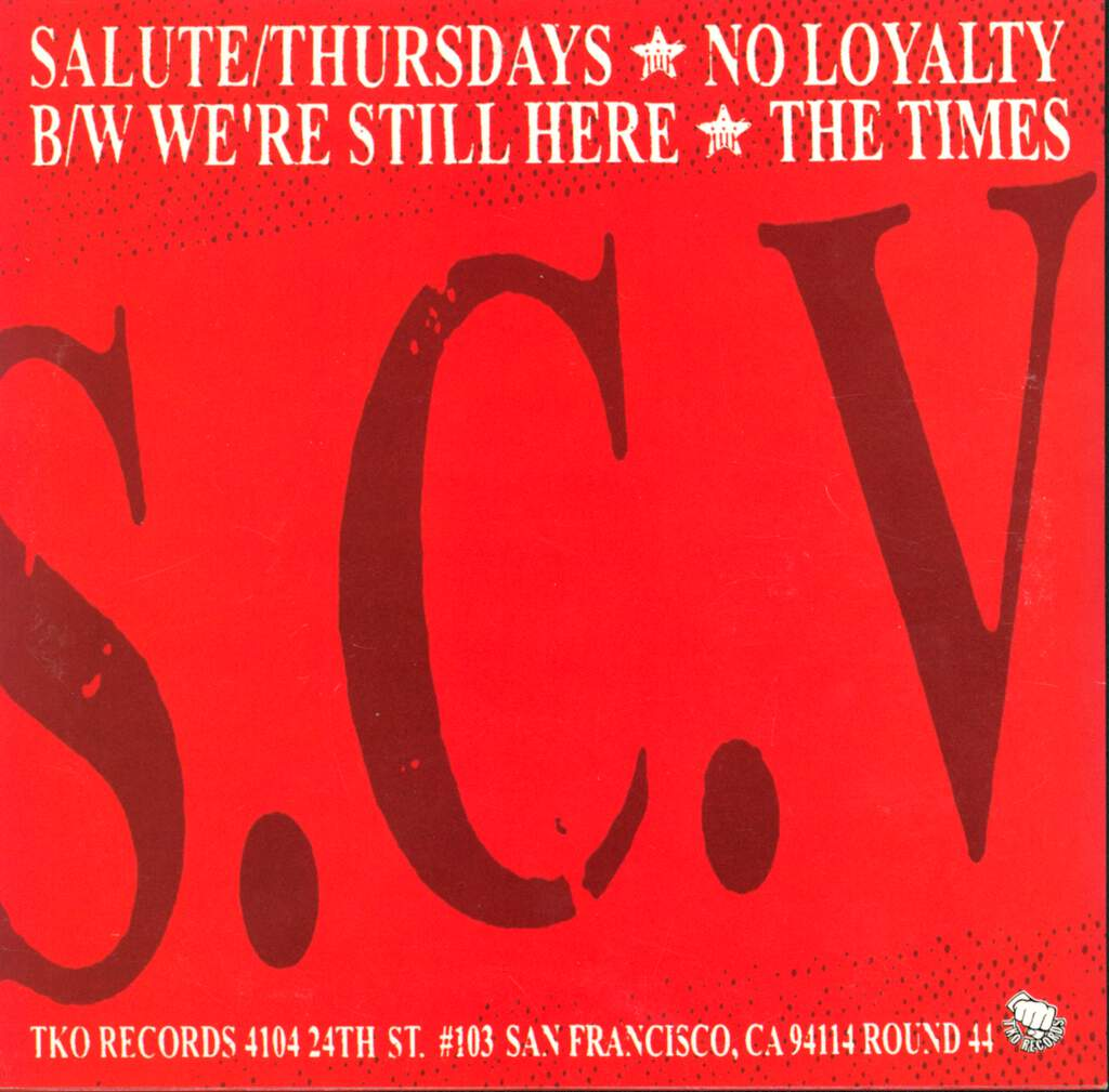 "S.C. Volunteers: S.C. Volunteers, 7"" Single (Vinyl)"