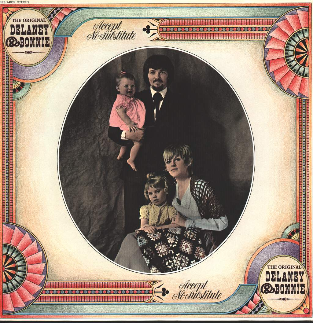 Delaney & Bonnie: Accept No Substitute, LP (Vinyl)