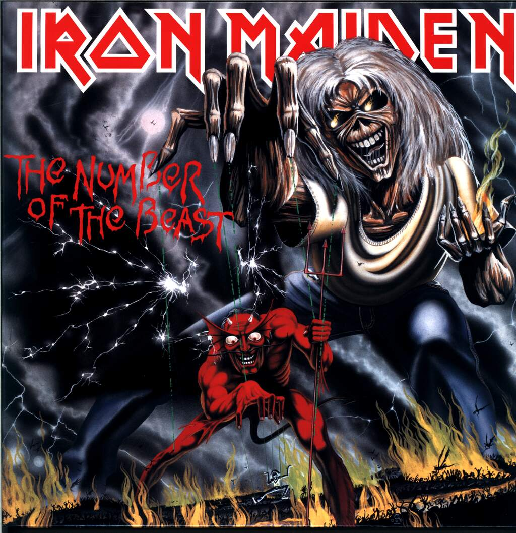 Iron Maiden: The Number Of The Beast, LP (Vinyl)