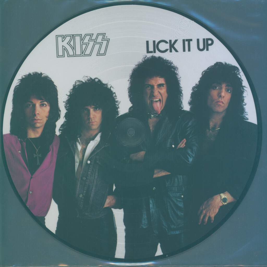 Kiss: Lick It Up, LP (Vinyl)