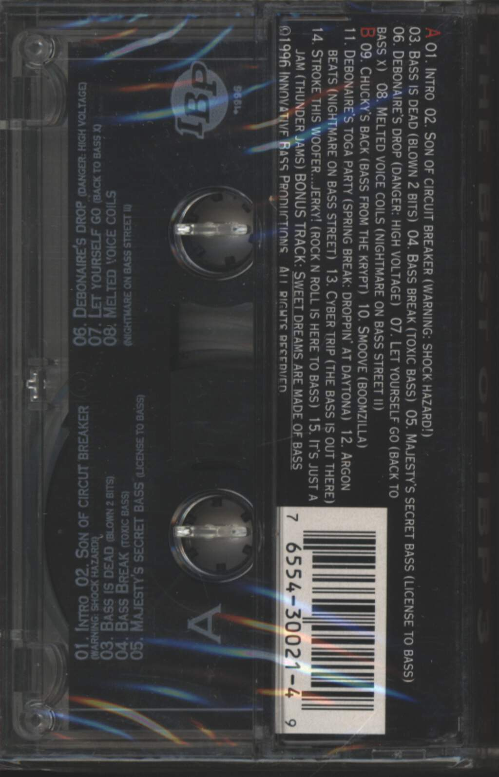 Various: The Best Of IBP 3, Tape