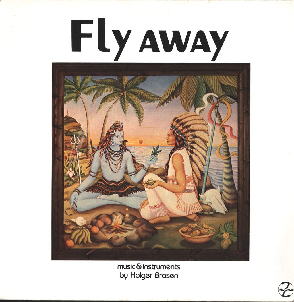 Holger Brasen: Fly Away (Vibes & Voices On Magic Overtune Stringboards), LP (Vinyl)