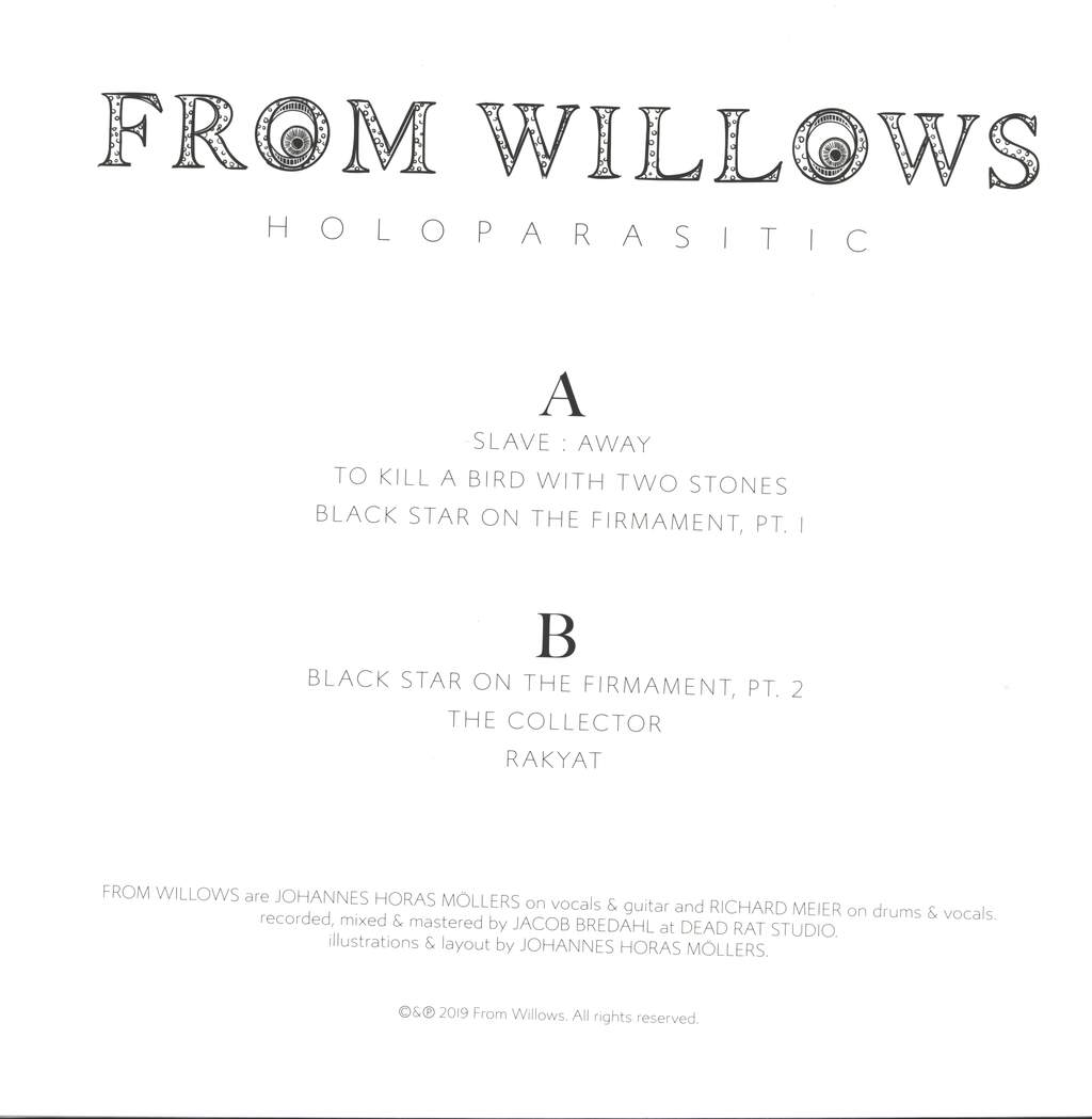 From Willows: Holoparasitic, LP (Vinyl)