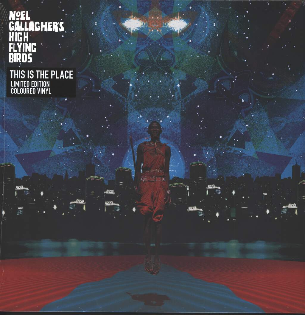 "Noel Gallagher's High Flying Birds: This Is The Place, 12"" Maxi Single (Vinyl)"