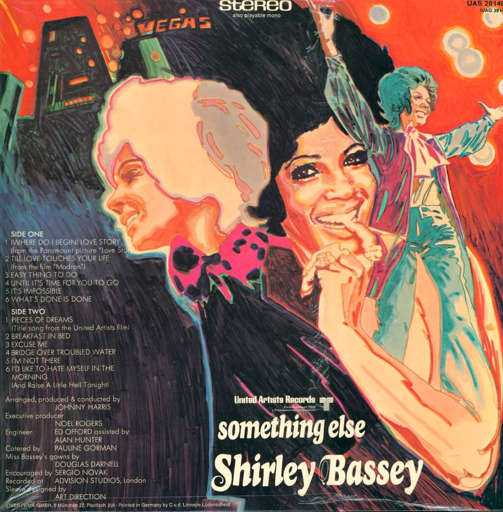 Shirley Bassey: Something Else, LP (Vinyl)