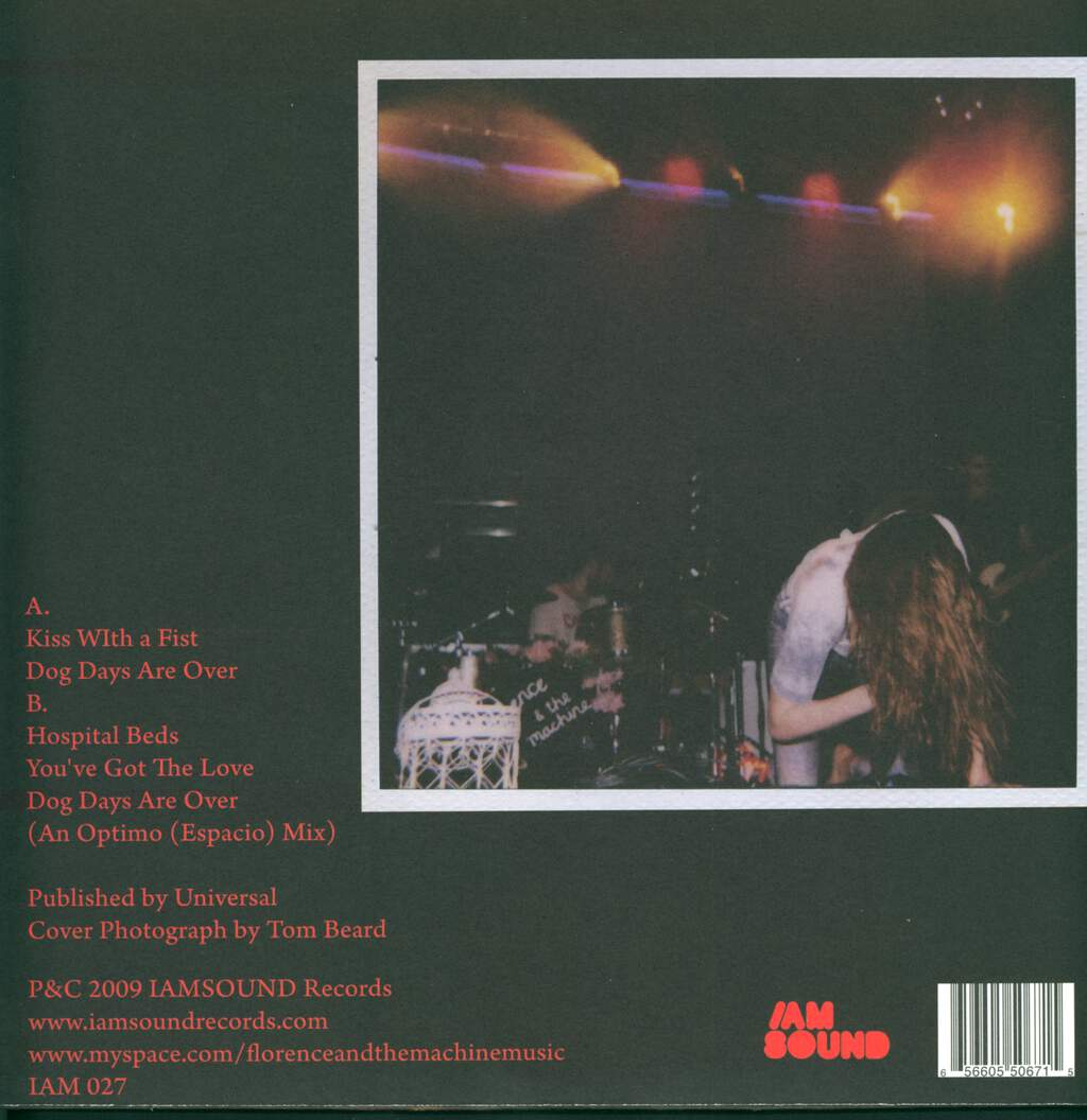 """Florence And The Machine: A Lot Of Love A Lot Of Blood, 12"""" Maxi Single (Vinyl)"""