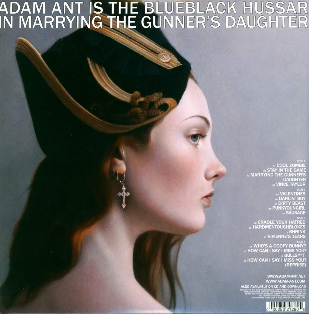 Adam Ant: Adam Ant Is The Blueblack Hussar In Marrying The Gunner's Daughter, 2×LP (Vinyl)