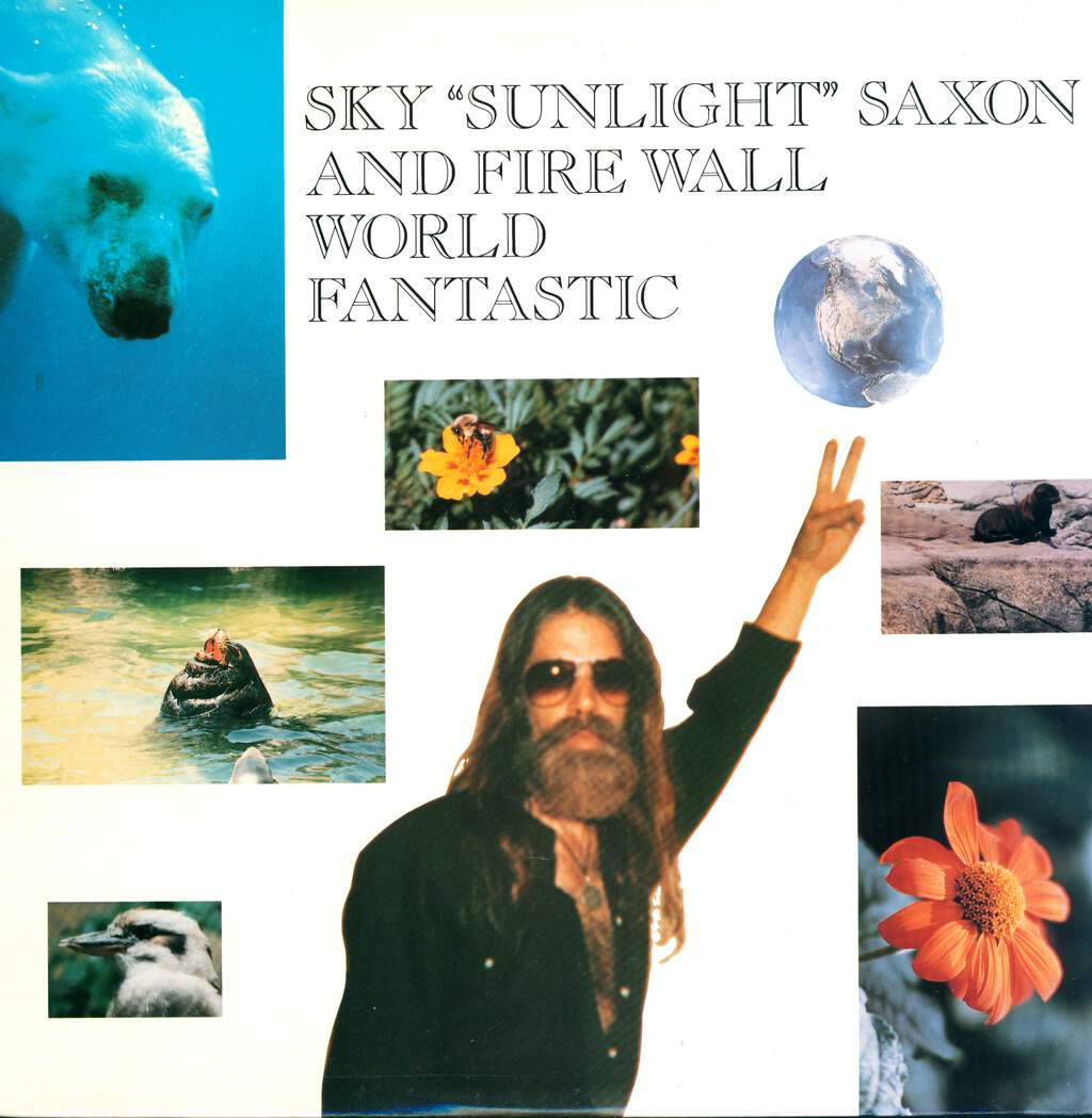 Sky Saxon: World Fantastic, LP (Vinyl)