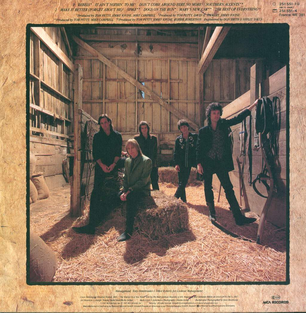 Tom Petty And The Heartbreakers: Southern Accents, LP (Vinyl)