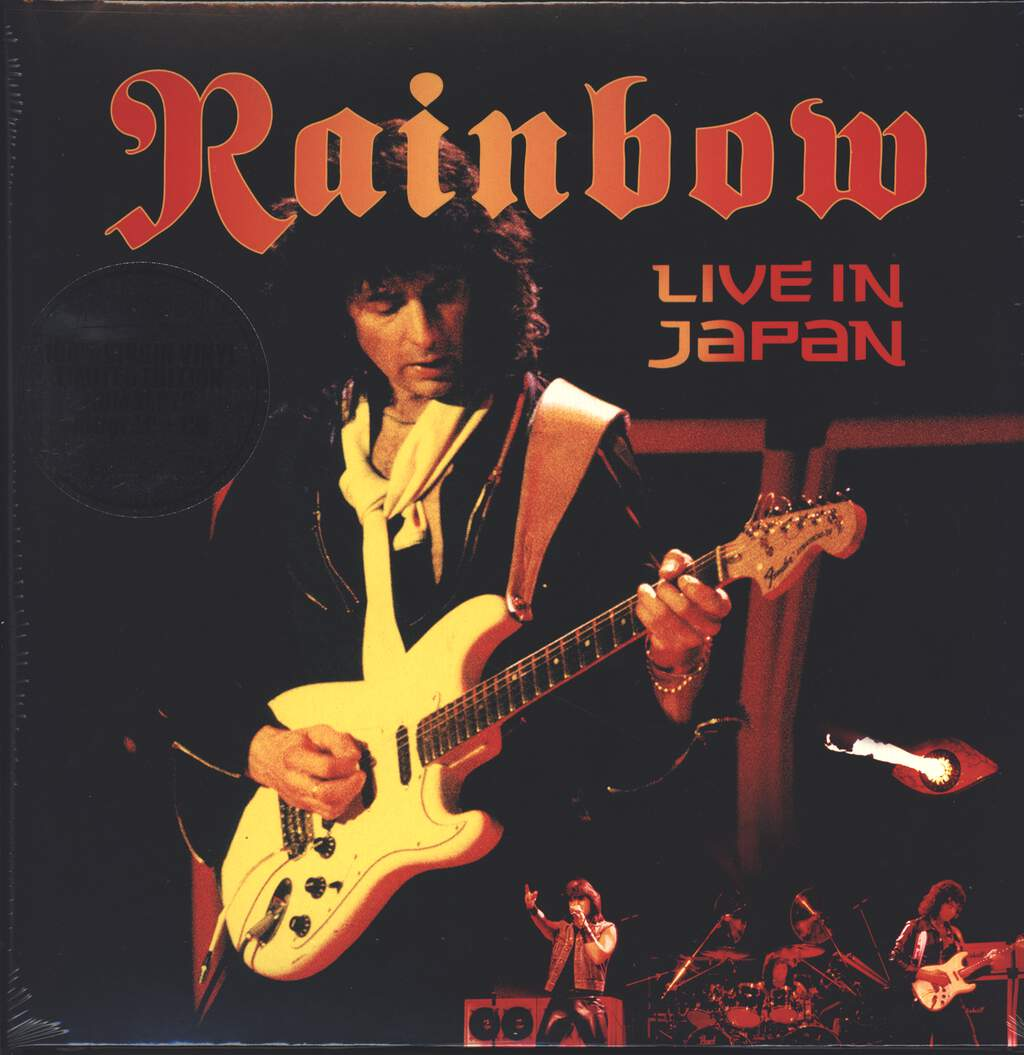Rainbow: Live In Japan, 3×LP (Vinyl)