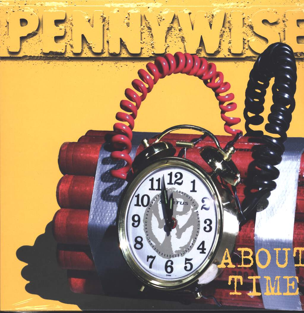 Pennywise: About Time, LP (Vinyl)