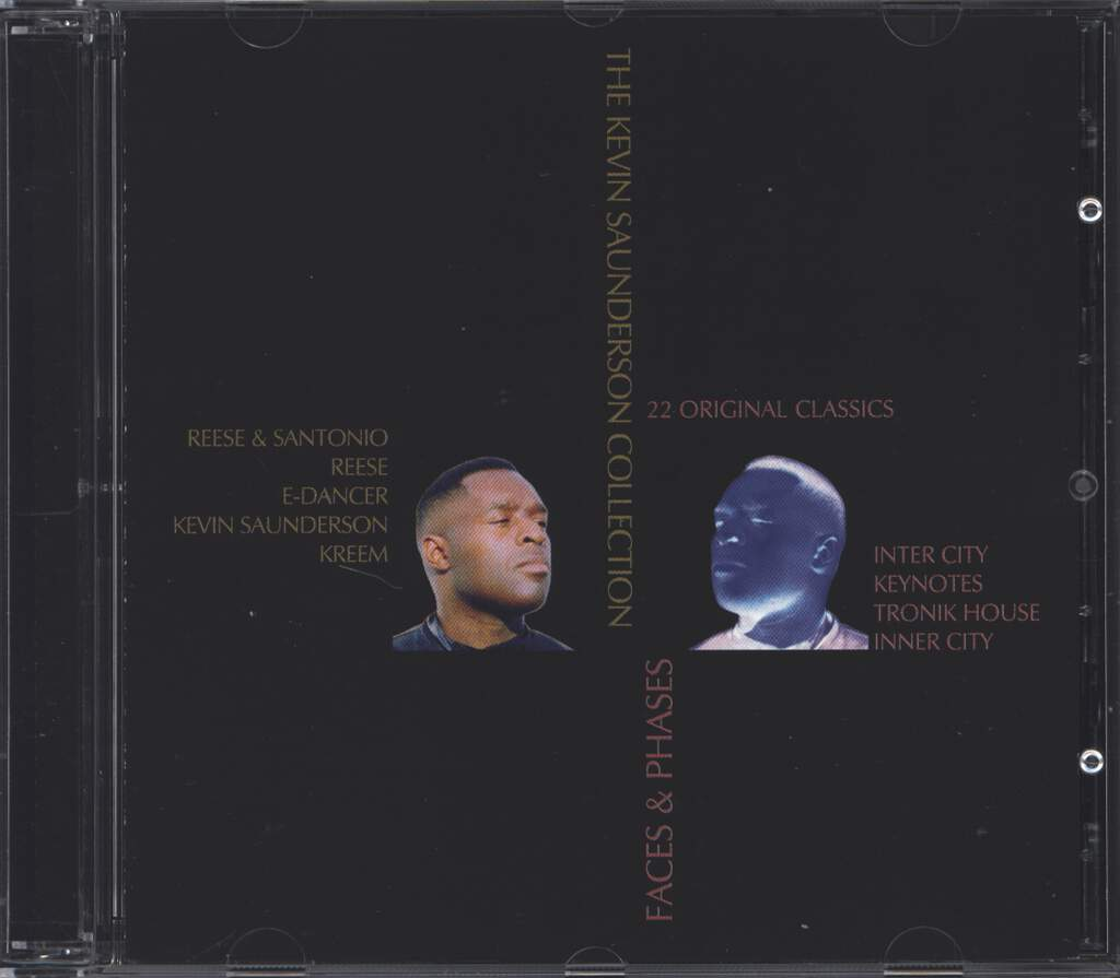 Kevin Saunderson: Faces & Phases (The Kevin Saunderson Collection), 2×CD