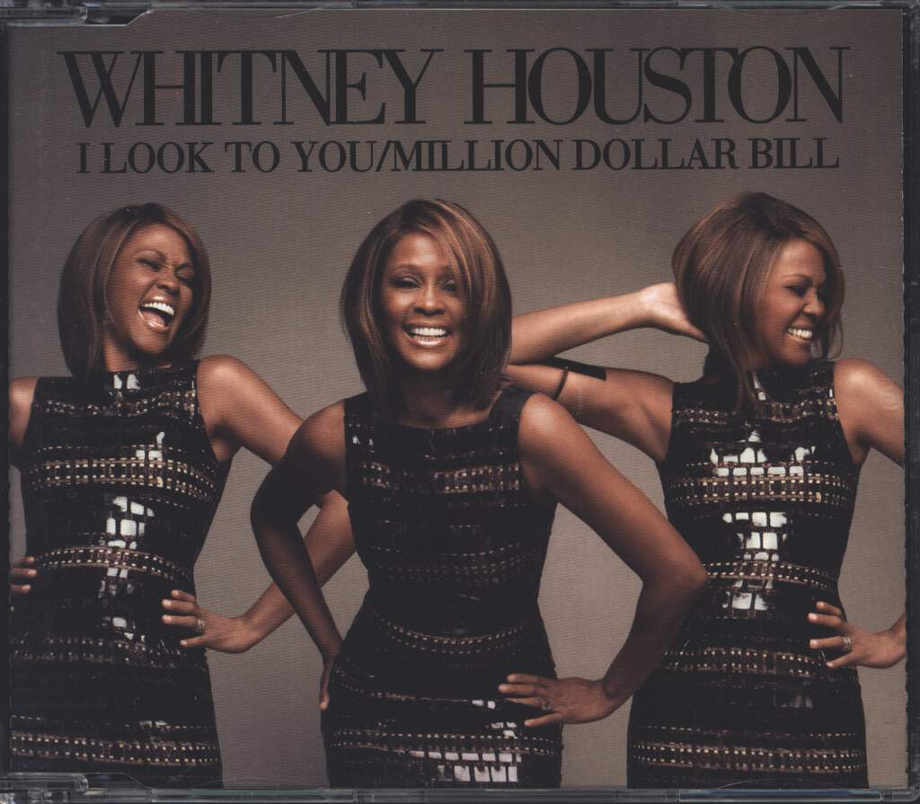 Whitney Houston: I Look To You / Million Dollar Bill, Mini CD
