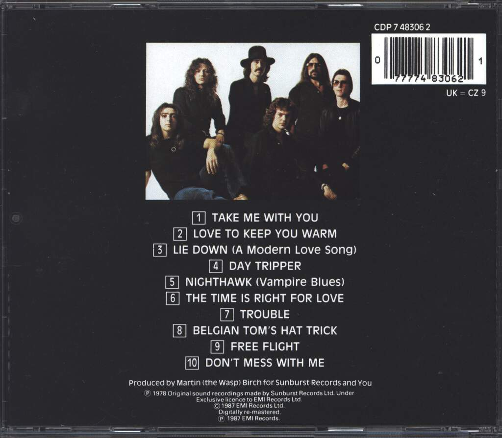 Whitesnake: Trouble, CD