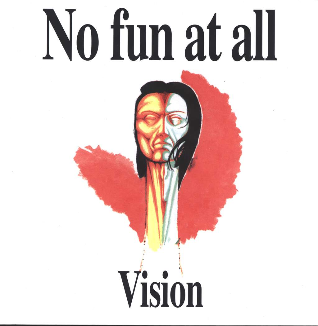 "No Fun At all: Vision, 12"" Maxi Single (Vinyl)"