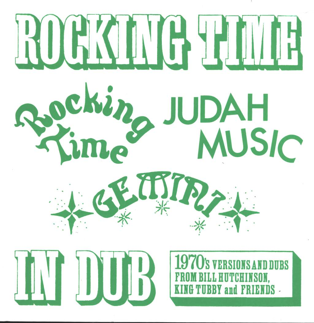 Bill Hutchinson: Rocking Time In Dub, LP (Vinyl)