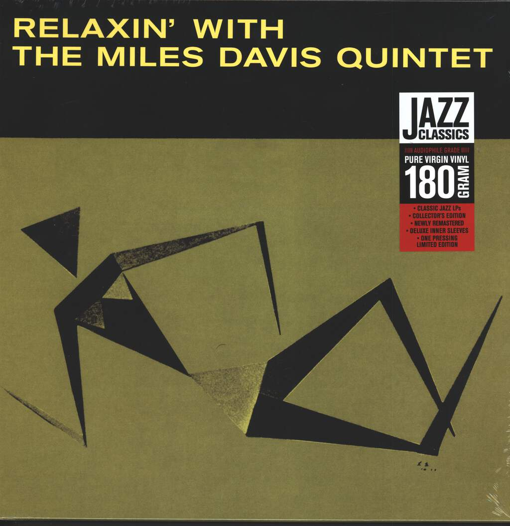 The Miles Davis Quintet: Relaxin' With The Miles Davis Quintet, LP (Vinyl)