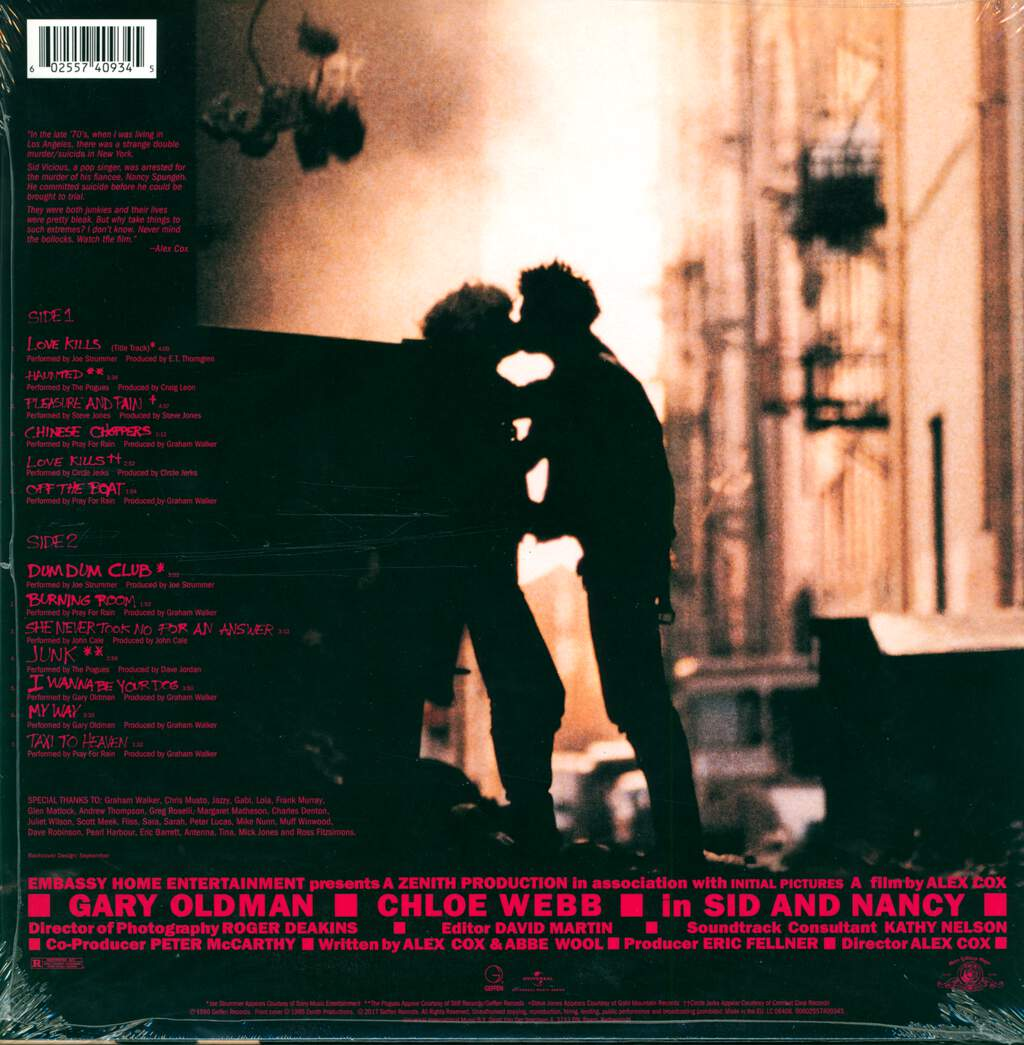 Various: Sid And Nancy: Love Kills (Music From The Motion Picture Soundtrack), LP (Vinyl)