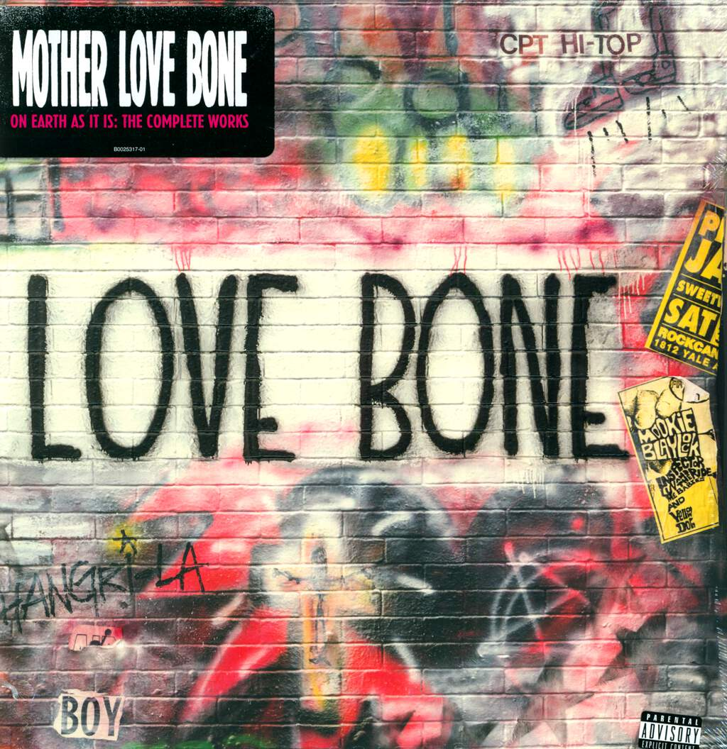 Mother Love Bone: On Earth As It Is: The Complete Works, 3×LP (Vinyl)