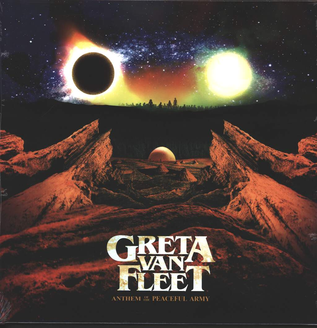 Greta Van Fleet: Anthem Of The Peaceful Army, LP (Vinyl)