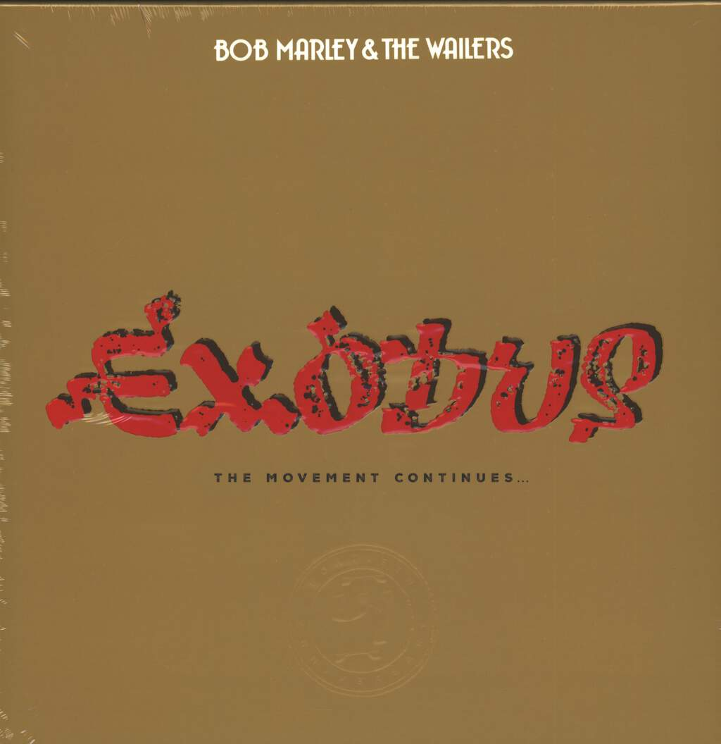Bob Marley & The Wailers: Exodus (The Movement Continues...), 4×LP (Vinyl)