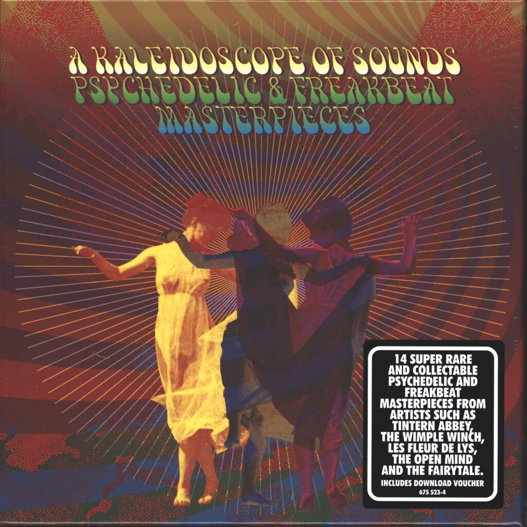 "Various: A Kaleidoscope Of Sounds: Psychedelic & Freakbeat Masterpieces, 7×7"" Single (Vinyl)"