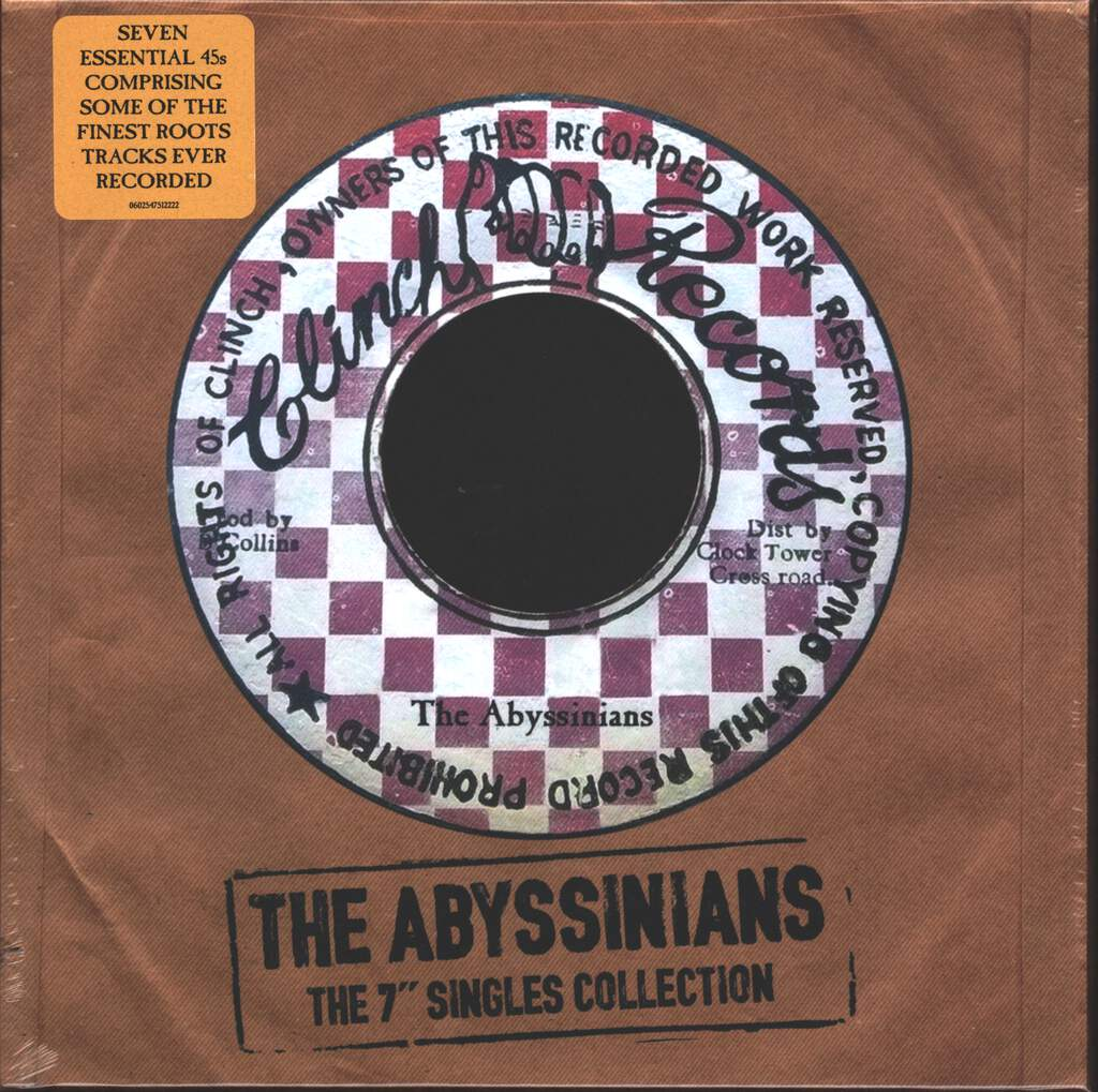 "The Abyssinians: The Clinch Singles Collection (The 7"" Singles Collection), 7×7"" Single (Vinyl)"