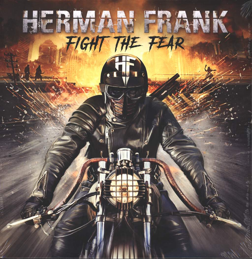 Herman Frank: Fight The Fear, 2×LP (Vinyl)