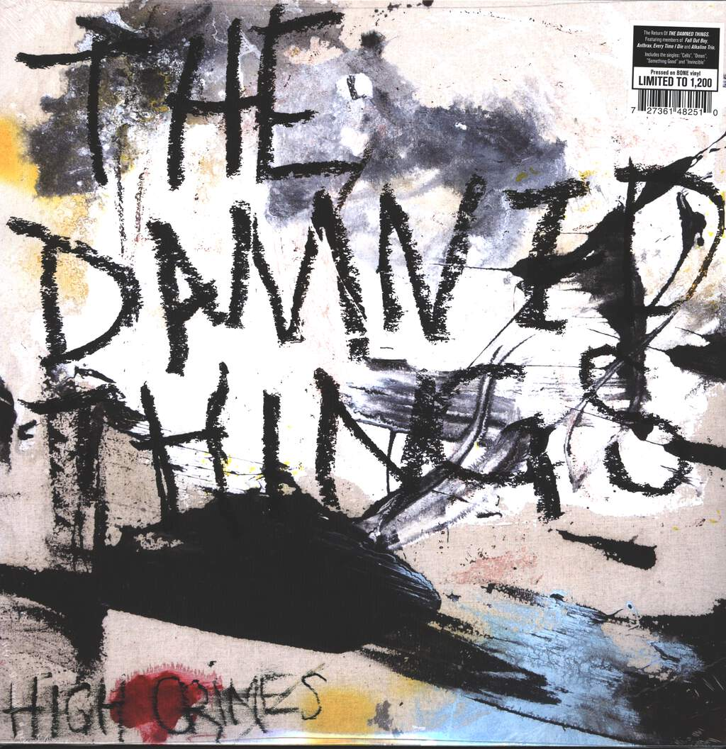 The Damned Things: High Crimes, LP (Vinyl)