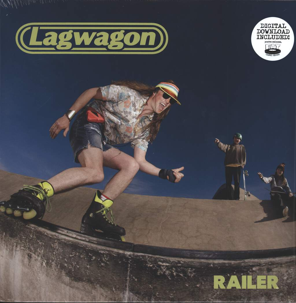Lagwagon: Railer, LP (Vinyl)