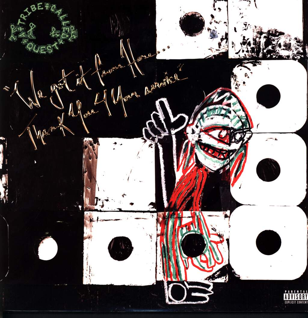 A Tribe Called Quest: We Got It From Here…Thank You 4 Your Service, 2×LP (Vinyl)