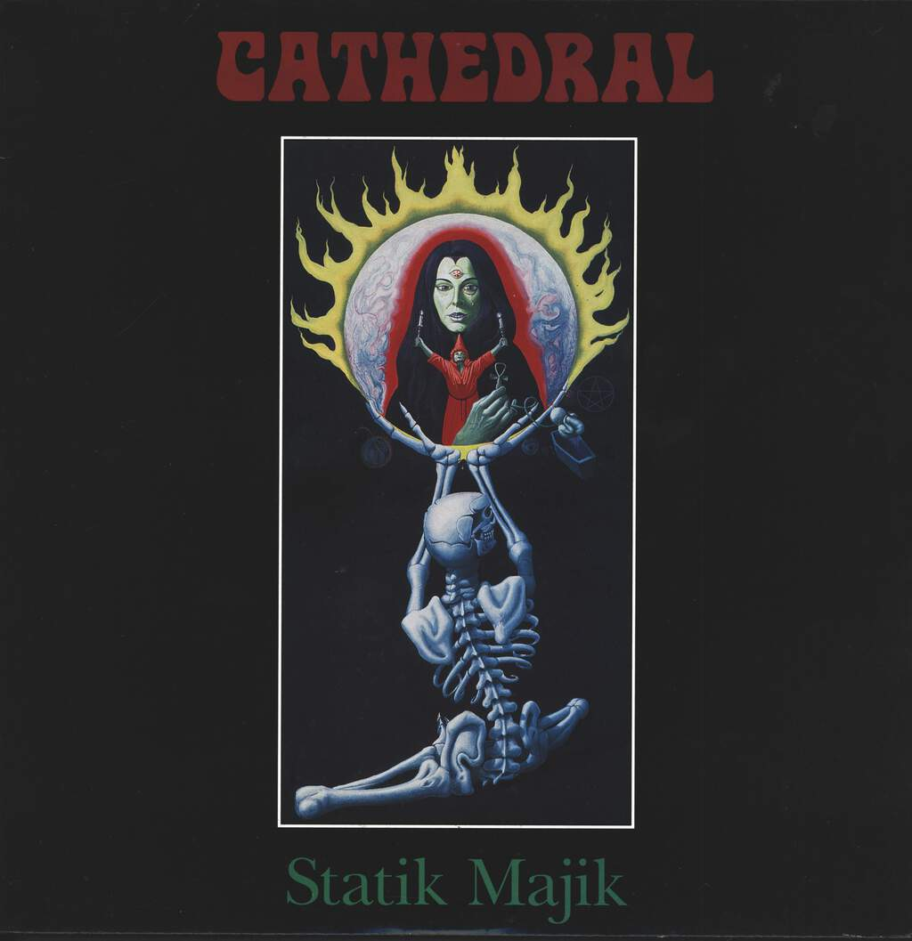 "Cathedral: Statik Majik, 12"" Maxi Single (Vinyl)"