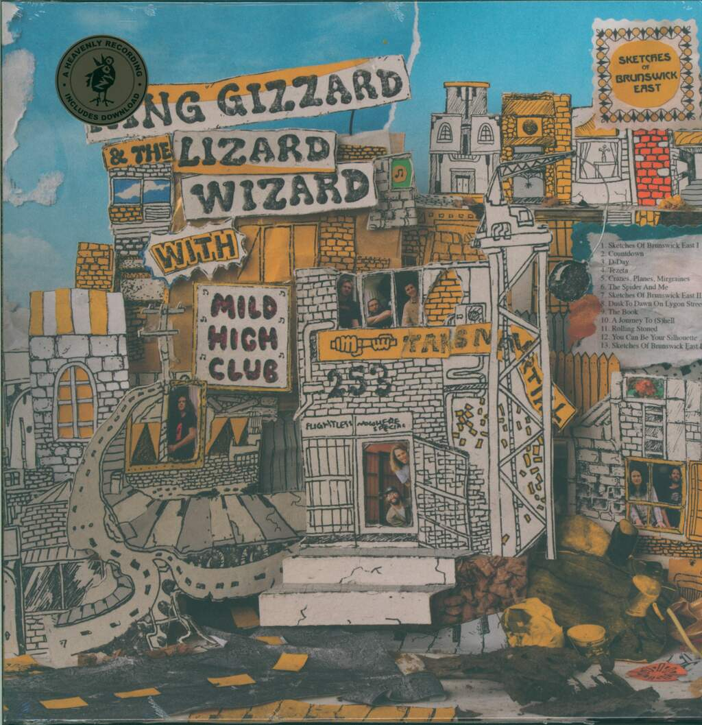 King Gizzard And The Lizard Wizard: Sketches Of Brunswick East, LP (Vinyl)