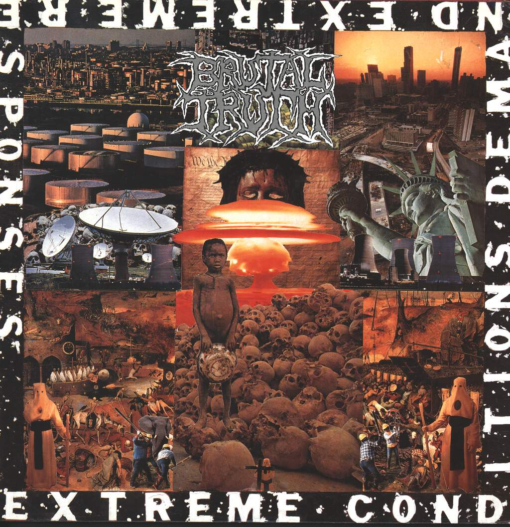 Brutal Truth: Extreme Conditions Demand Extreme Responses, LP (Vinyl)