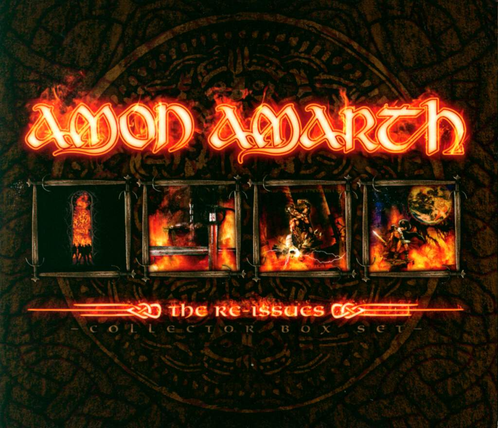 Amon Amarth: The Re-Issues, 8×CD
